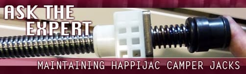 Happijac Camper Jack Maintenance