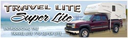 2012 Travel Lite 770 Super Lite