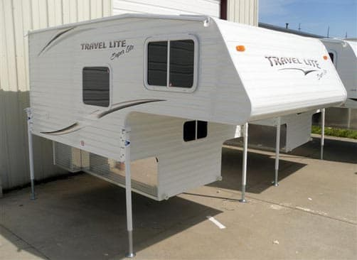 2012 Travel Lite 770 Super Lite truck camper