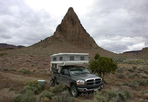 Fang Ridge with Hallmark pop-up camper