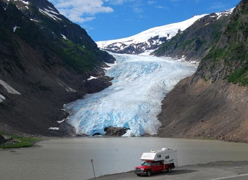 Bear Glacier, British Columbia with Adventurer 90FWS