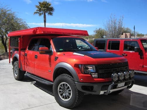 Ford Raptor and Phoenix PULSE truck camper 2