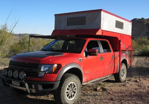 Ford Raptor and Phoenix PULSE truck camper 4