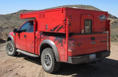 Ford Raptor and Phoenix PULSE truck camper 6