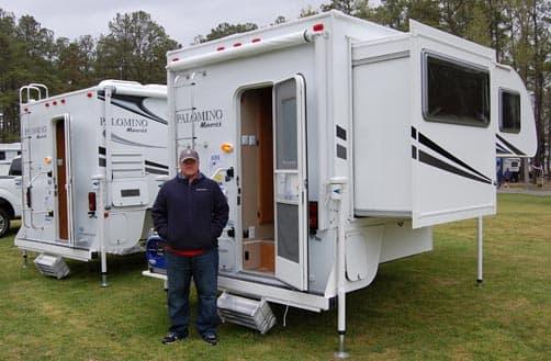 Campfire Stories Palomino Rv At The Matcr Truck Camper