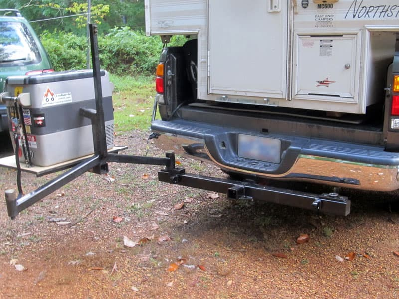 Swing Out Refrigerator Stand