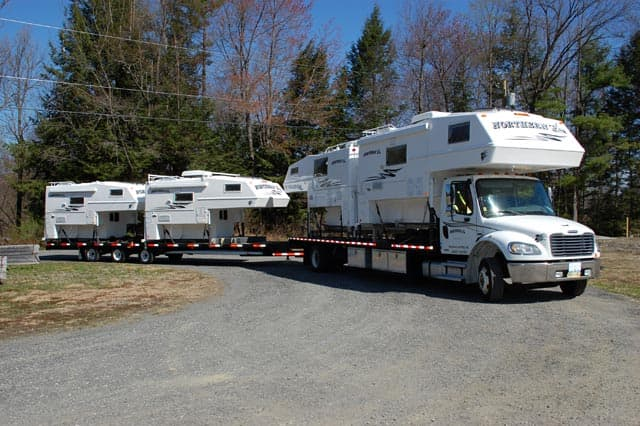 Northern Lites at Truck Camper Warehouse in New Hampshire