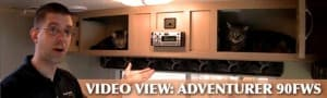 Adventurer 90FWS Video and Fun Cat Video