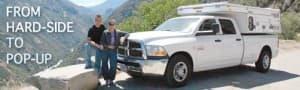 First pop-up truck camper