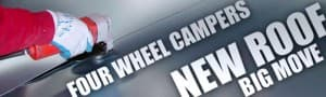 Four Wheel Campers new roof