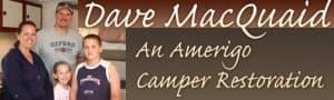 1976 Amerigo Camper Restoration