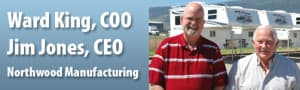 Northwood Manufacturing's CEO and COO