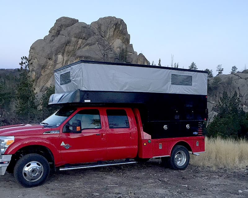 trailhead cold camping